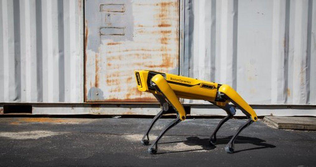 波士顿动力Spot机器人投入使用 将巡检钻井平台