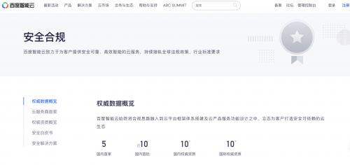 喜讯|百度智能云顺利获取SOC 1 TYPE II鉴证报告