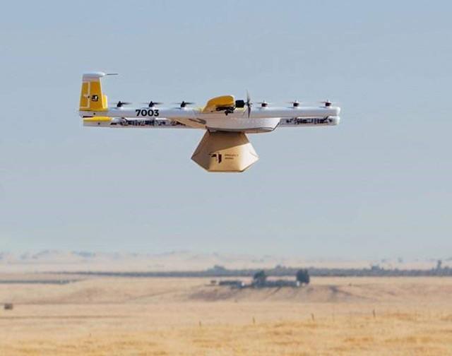 谷歌母公司使用其Wing无人机在疫情行期间运送药品