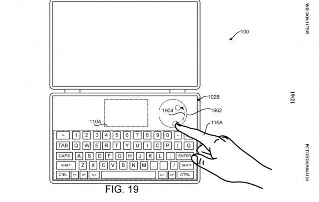 微软Surface Neo新专利 介绍了未来触控+笔输功能