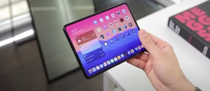 大神新爆料:可折叠iPhone存在 采用无刘海设计